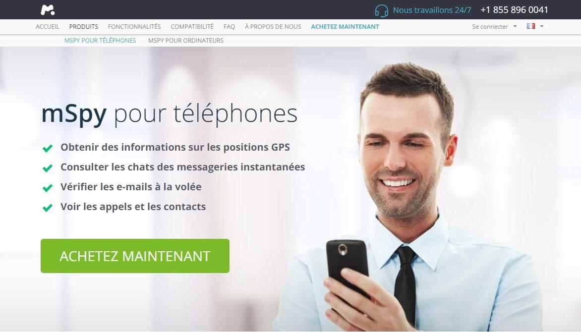 application pour espionner un telephone